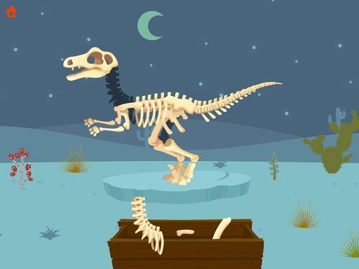 Jurassic Dig - Dinosaur Games for kids - عکس بازی موبایلی اندروید