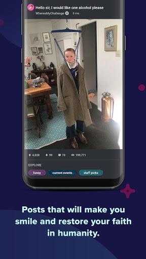 Imgur: Find funny GIFs, memes & watch viral videos - عکس برنامه موبایلی اندروید