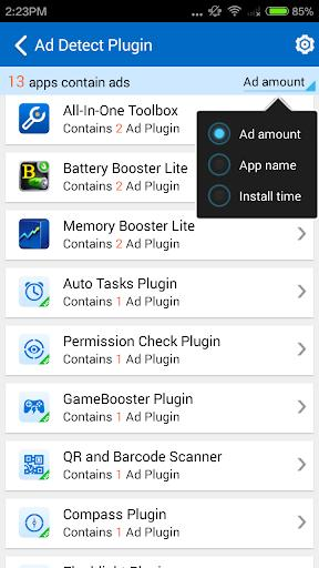 Ad Detect Plugin - Handy Tool - عکس برنامه موبایلی اندروید