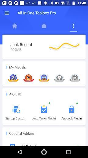 Quick Settings Plugin - عکس برنامه موبایلی اندروید