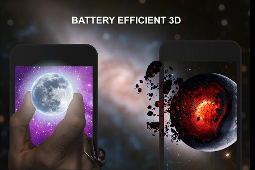 3D Wallpaper Parallax - 4D Backgrounds - عکس برنامه موبایلی اندروید