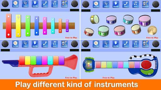 Kids Piano Free - عکس بازی موبایلی اندروید