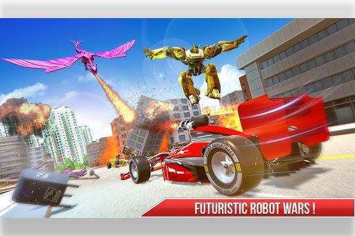 Formula Car Robot Transform - Flying Dragon Robot - عکس برنامه موبایلی اندروید