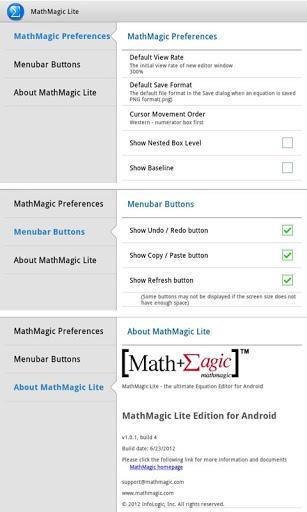 MathMagic Lite - عکس برنامه موبایلی اندروید