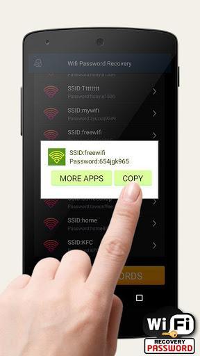 Free Wifi Password Recovery - عکس برنامه موبایلی اندروید