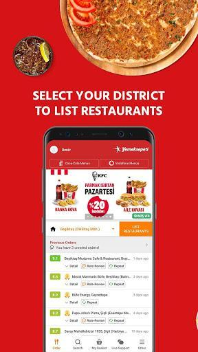 Yemeksepeti - Order Food & Grocery Easily - عکس برنامه موبایلی اندروید