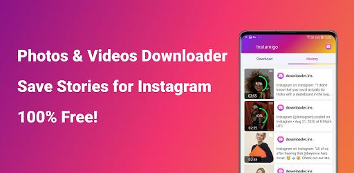 Video downloader for Instagram, Story saver - عکس برنامه موبایلی اندروید