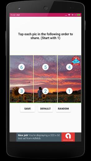Grid Maker for Instagram - عکس برنامه موبایلی اندروید