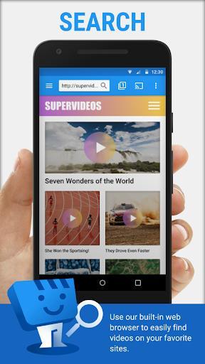 Web Video Cast | Browser to TV/Chromecast/Roku/+ - عکس برنامه موبایلی اندروید