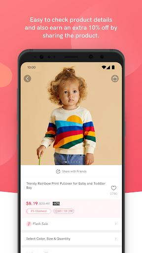 PatPat: Kids, Baby Clothing – Daily Deals for Moms - عکس برنامه موبایلی اندروید