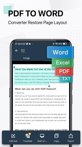 CamScanner - PDF Scanner App Free - عکس برنامه موبایلی اندروید