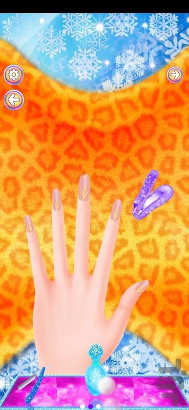 ناخن و لاک بازی - عکس بازی موبایلی اندروید