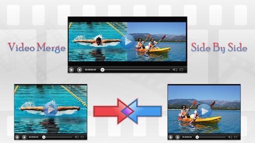 Video Merge - Side By Side - عکس برنامه موبایلی اندروید