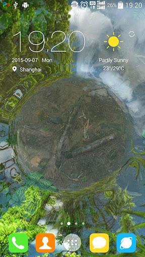 Water Garden Live Wallpaper - Image screenshot of android app