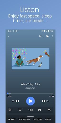 پادکست ریپابلیک - برنامه رایگان پادکست - عکس برنامه موبایلی اندروید