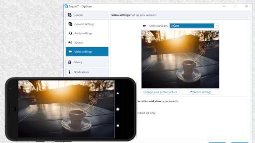Iriun 4K Webcam for PC and Mac - عکس برنامه موبایلی اندروید