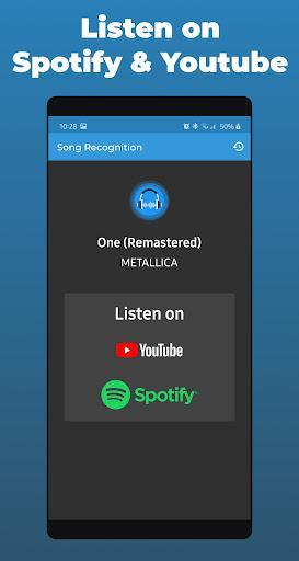 Song Recognition & Detector - عکس برنامه موبایلی اندروید