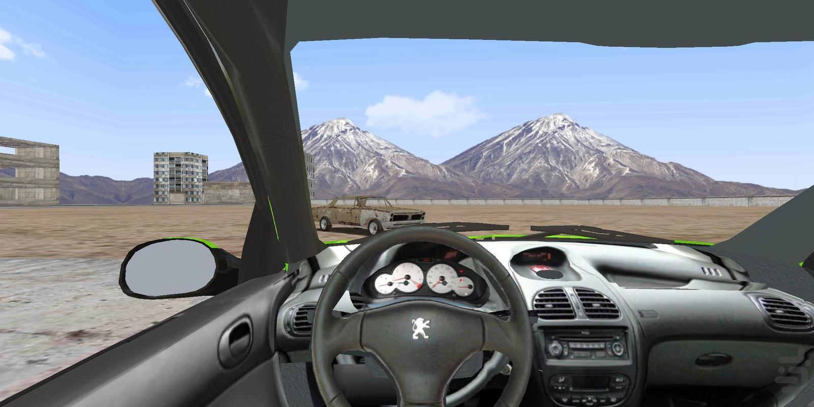 ماشین بازی پژو 206 - عکس بازی موبایلی اندروید