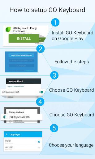 Serbian for GO Keyboard - عکس برنامه موبایلی اندروید