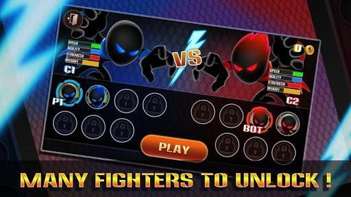 Stickman Warriors:UFB Fighting - عکس بازی موبایلی اندروید
