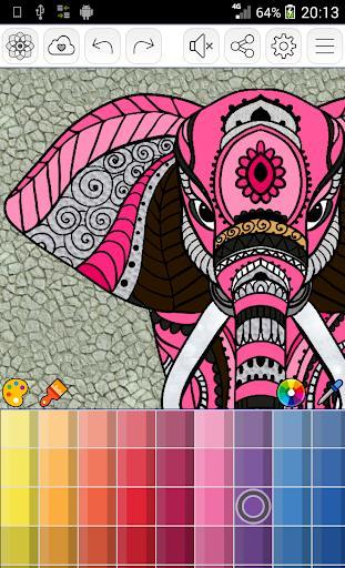Mandalas coloring pages - عکس برنامه موبایلی اندروید