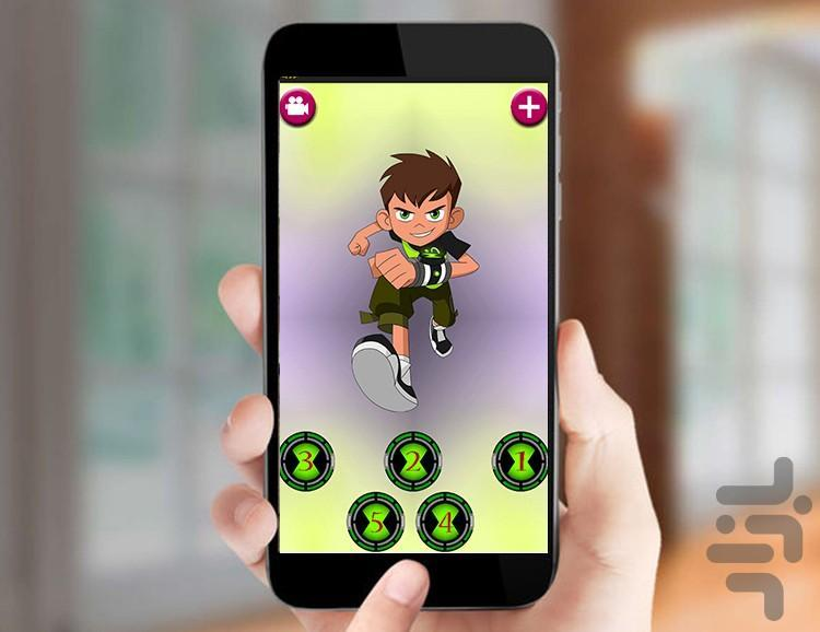 پازل بن تن قهرمان - عکس بازی موبایلی اندروید