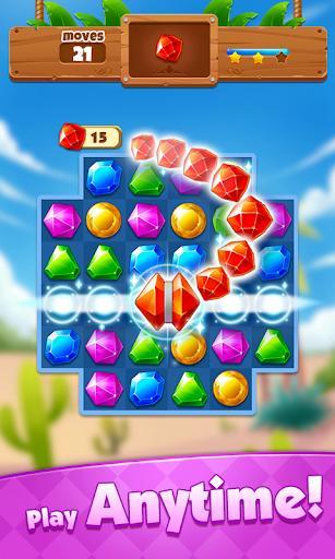 Jewel Adventure - Match 3 In Temple & Jungle - عکس بازی موبایلی اندروید