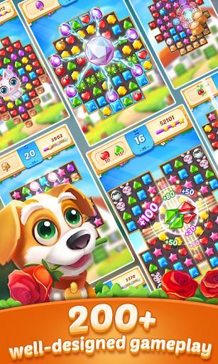 Jewel Town - 10,000+ Match 3 Levels - عکس بازی موبایلی اندروید