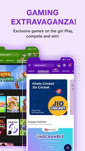 MyJio: For Everything Jio - عکس برنامه موبایلی اندروید