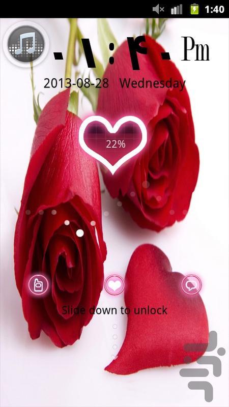 تم گولاکر love - عکس برنامه موبایلی اندروید