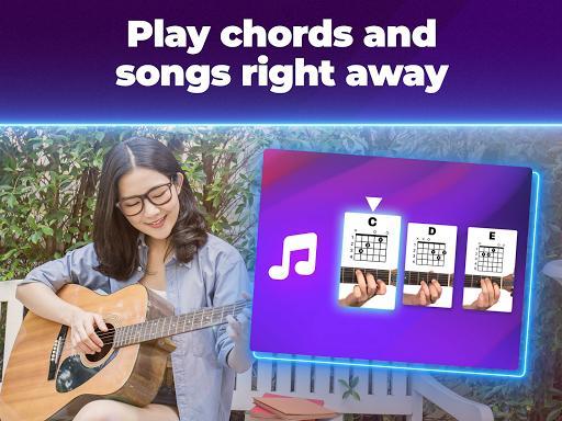 Simply Guitar by JoyTunes - عکس برنامه موبایلی اندروید