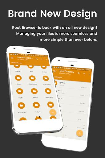File Explorer Root Browser - عکس برنامه موبایلی اندروید