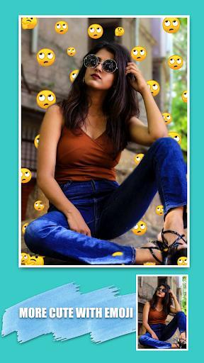 Emoji background changer - emoji photo editor - عکس برنامه موبایلی اندروید