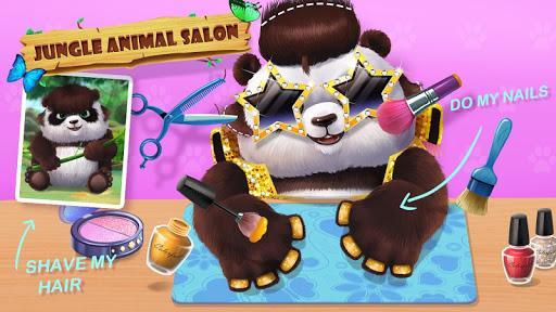🦁🐼Jungle Animal Makeup - عکس بازی موبایلی اندروید