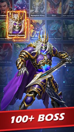 MythWars & Puzzles: RPG Match 3 - عکس بازی موبایلی اندروید