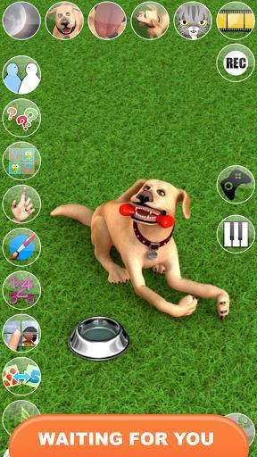 Talking John Dog: Funny Dog - عکس برنامه موبایلی اندروید