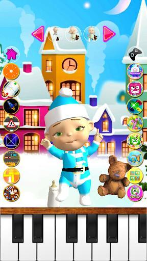 Talking Babsy Baby Xmas Games - عکس برنامه موبایلی اندروید