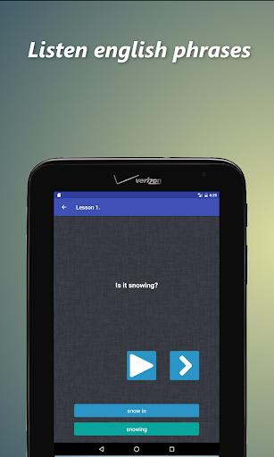 Business english speaking app - عکس برنامه موبایلی اندروید