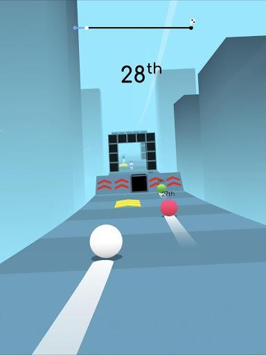 Balls Race - Gameplay image of android game