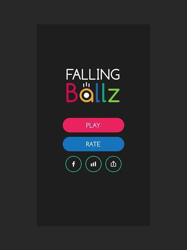 Falling Ballz - سقوط توپها - عکس بازی موبایلی اندروید