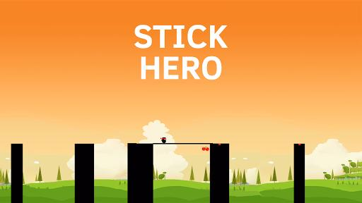 Stick Hero - Gameplay image of android game