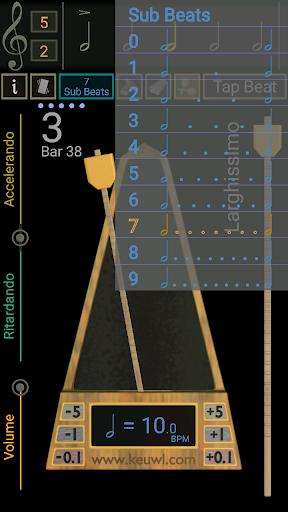 Metronome - عکس برنامه موبایلی اندروید