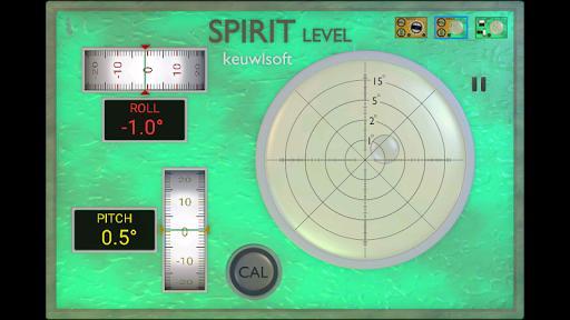 Spirit Level - عکس برنامه موبایلی اندروید