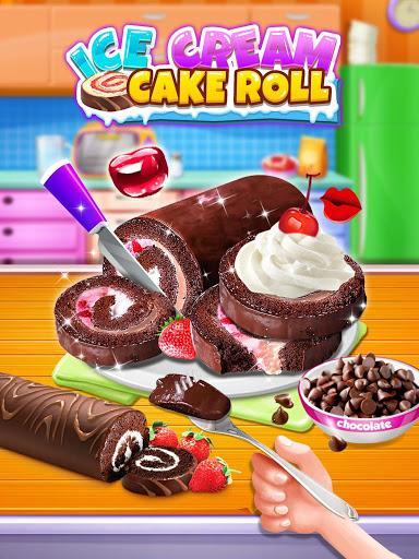 Ice Cream Cake Roll Maker - Super Sweet Desserts - عکس بازی موبایلی اندروید