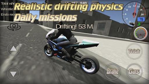 Wheelie King 3D - Realistic free  motorbike racing - عکس بازی موبایلی اندروید