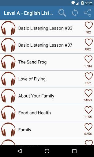Listen English Daily Practice - عکس برنامه موبایلی اندروید