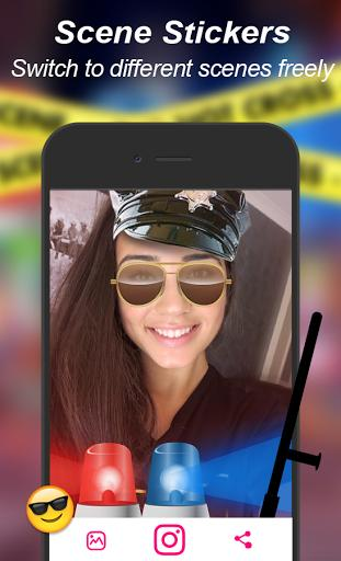 Snap Camera - Filters - عکس برنامه موبایلی اندروید