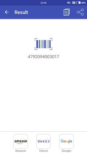 QR Scanner - عکس برنامه موبایلی اندروید