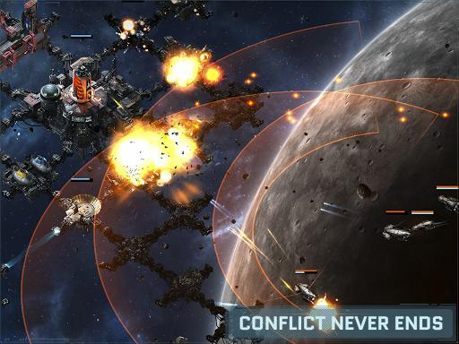 VEGA Conflict - Gameplay image of android game
