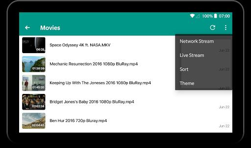 KPlayer - All format video player - عکس برنامه موبایلی اندروید